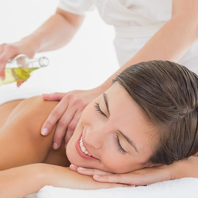 Gommage massage corporel
